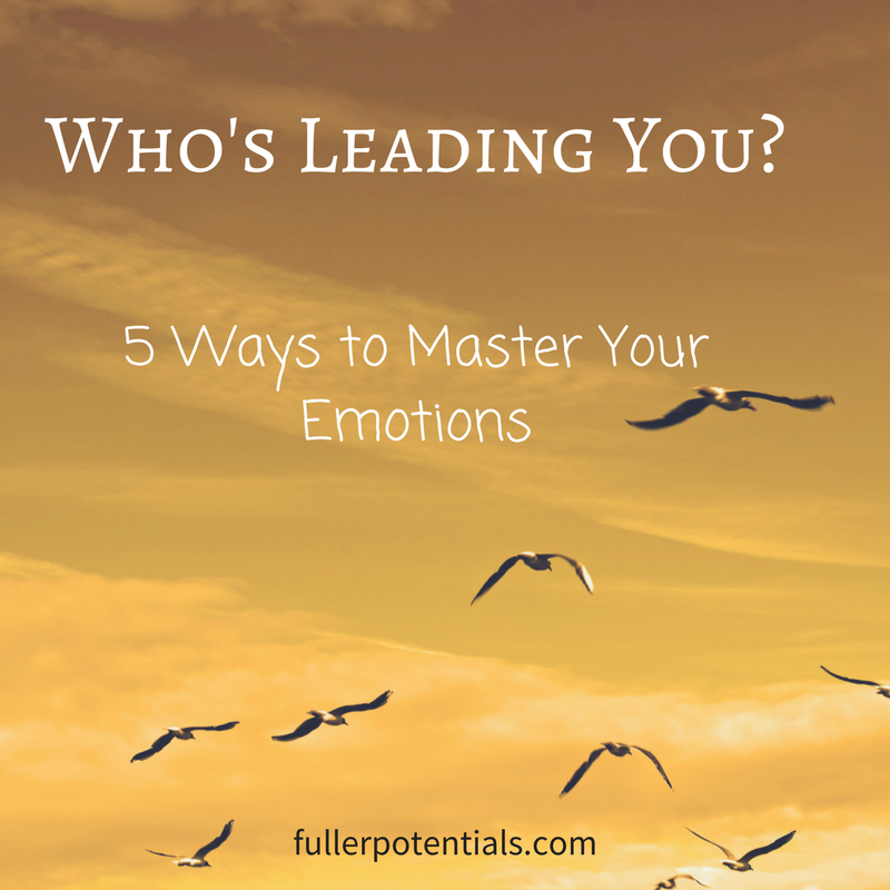 Who's Leading You? 5 Ways to Master Your Emotions
