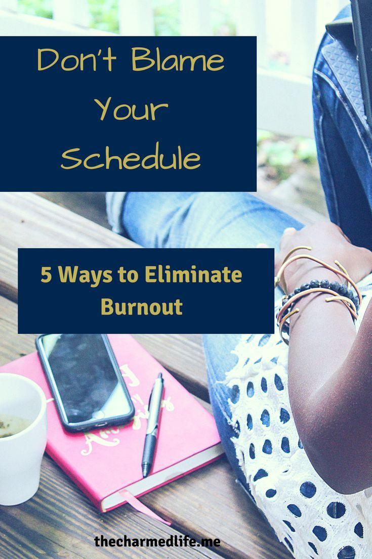 eliminate burnout